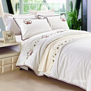 KOSMOS wholesale T/C embroidery duvet cover set